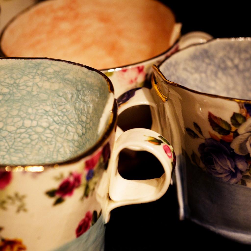 Duck CeramicsFloral Cups
