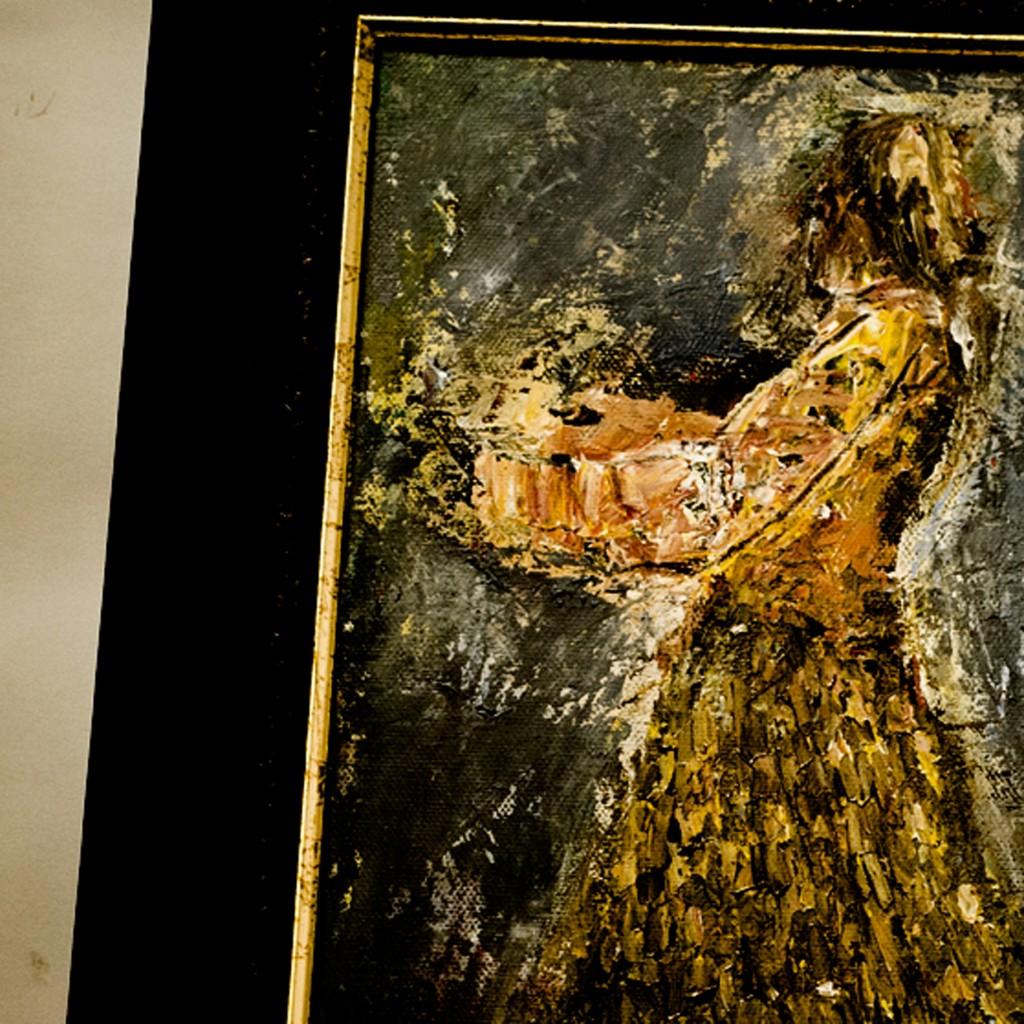 Janet McLellandIn the Golden Dress